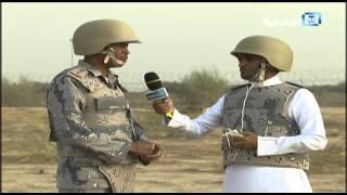 #x202b;مراسل الإخبارية  يكمل مقابلة رغم سماع أصوات رصاص على بعد أمتار من اليمن#x202c;lrm;