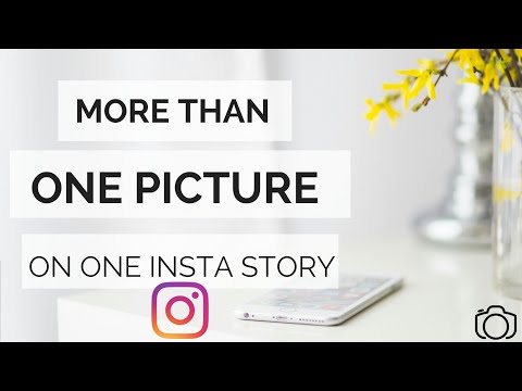 More than one Picture on ONE Instagram Story| Multiple Images on ONE Insta Story|Slideshow|Hack 2018