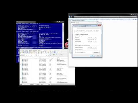 How To Setup Static IP Address in Windows 7 by A2Z Security Cameras
