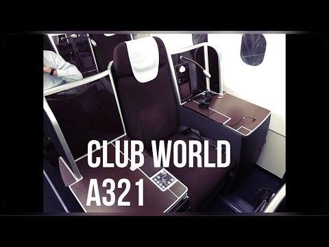Special Club World A321 with British Airways, DUS-LHR