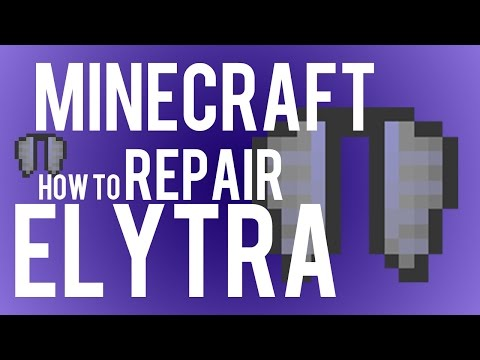 How To Repair Elytra in Minecraft 1.9