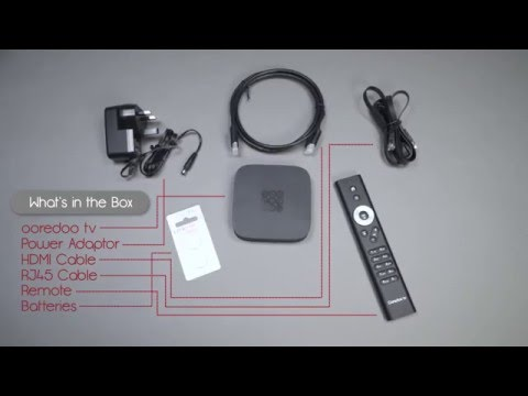 Ooredoo tv Unboxing! – Uncover the future of entertainment