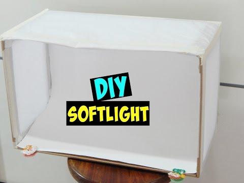 DIY SOFTLIGHT - MINI STUDIO DE FOTOGRAFIA ❤