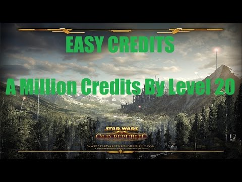 SWTOR: How to Make a Million Credits before Level 25