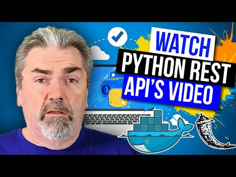 Sample Course Training - Python REST APIs  on Udemy - Official