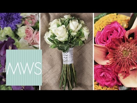 3 Bridal Bouquet Ideas | Bridal Blossom S1E1/8