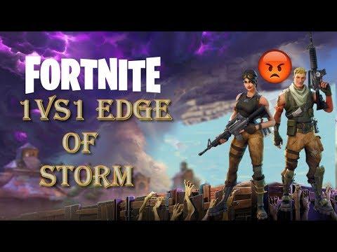 End game 1 vs 1 on Storm | Fortnite Battle Royale