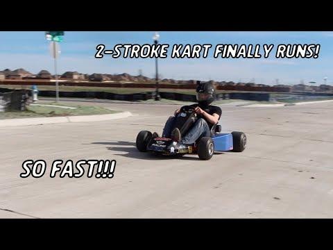 2 Stroke Racing Go Kart Is Alive!