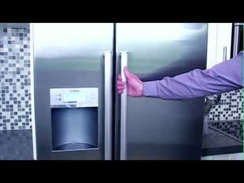 How to Change the Filter on an American Style Fridge Freezer