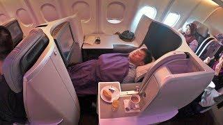 BUSINESS CLASS MALAYSIA AIRLINES | Pengalaman Perdana naik Pesawat Mewah | Jakarta - Kuala Lumpur