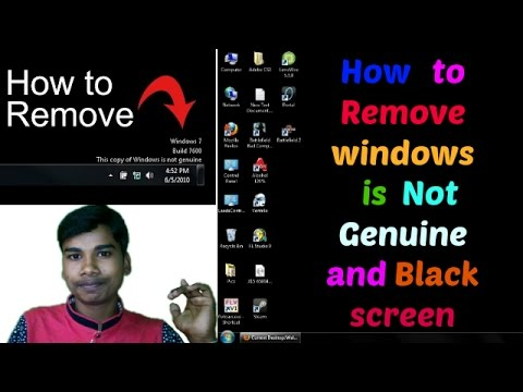 How to solve Windows 7 Not Genuine Fix? Problem solution !! (इन हिंदी )2017