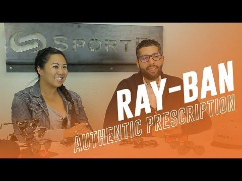 Ray-Ban Prescription Lenses With The Logo! | SportRx.com