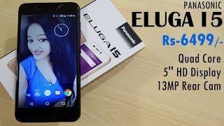 Panasonic Eluga I5 Unboxing & Overview- In Hindi