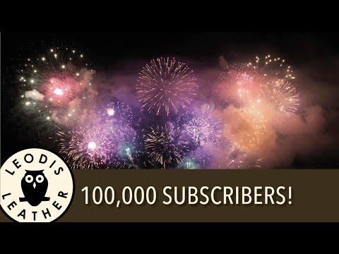 Leodis Leather 100k Subscribers!