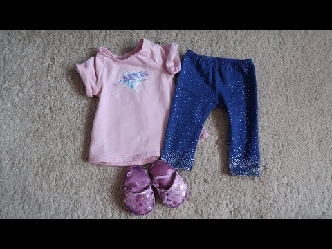 *Review* American Girl Doll Luciana's Pajama's!