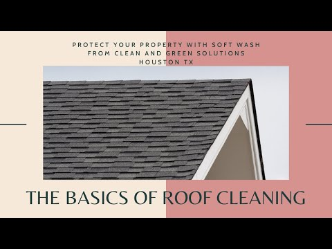 Soft Wash Roof Cleaning Houston Texas