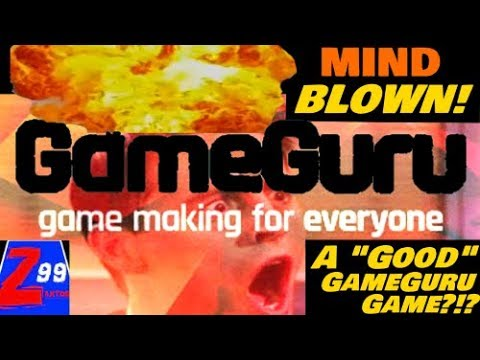 My Mind Just Got Blown!! - A Really Good GameGuru Game Actually Exists?!??  ..Holy Smokes!!!