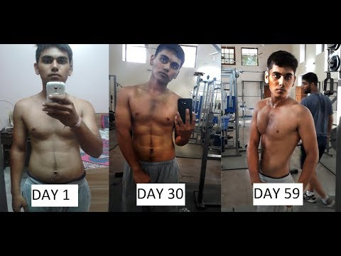 2 months body transformation fat to fit