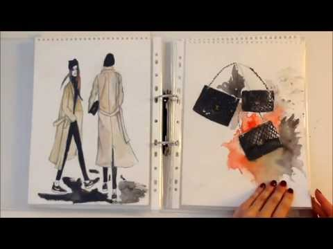 Inside my fashion sketchbook