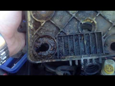 How to replace the input and output speed sensor on a 2002 PT Cruiser.