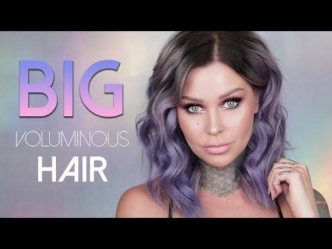 Thin, Flat Hair to BIG VOLUMINOUS THICK HAIR | KristenLeanneStyle