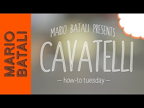 How to Make Cavatelli (Pasta Shape)