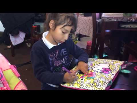 My Colouring Kit - A Kids Review for Children - Hello Kitty Doodle ... db4b0bde90ac7