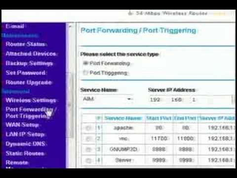How To Bypass A Router (Port Forwarding)