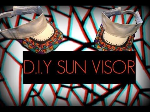 DIY SUN VISOR