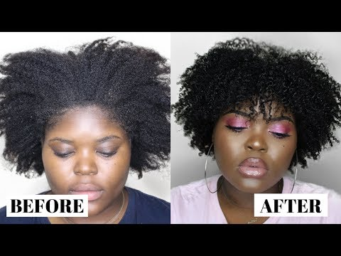 HOW TO MOISTURIZE DRY NATURAL HAIR  RETAIN MOISTURE ALL WEEK