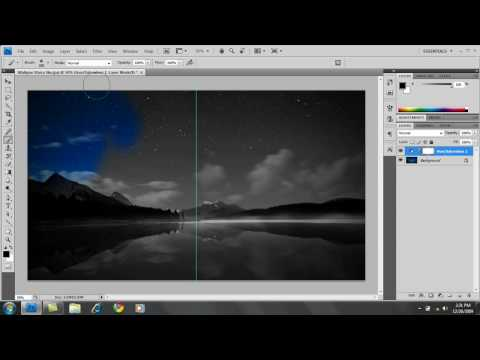 PhotoShop CS4: How to make an image Black & White w/ Color Accents - Part 2