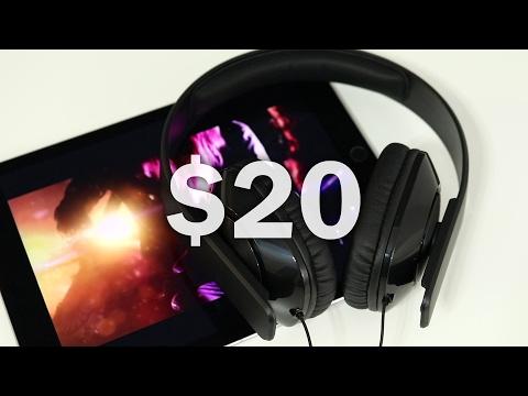 AmazonBasics Over-Ear Headphones for $20 - Are they any good?