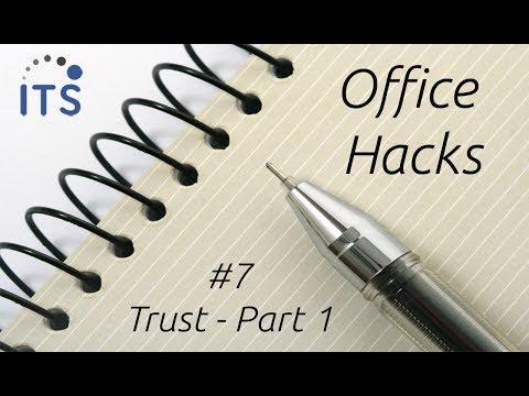 Trust Part 1 - Office Hack #7