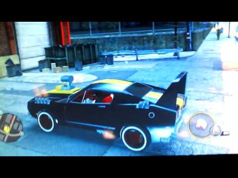 The fastest car in saints row3