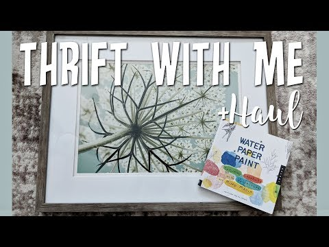 Goodwill Thrift with Me+Mini Haul-Awesome Home Decor Finds!