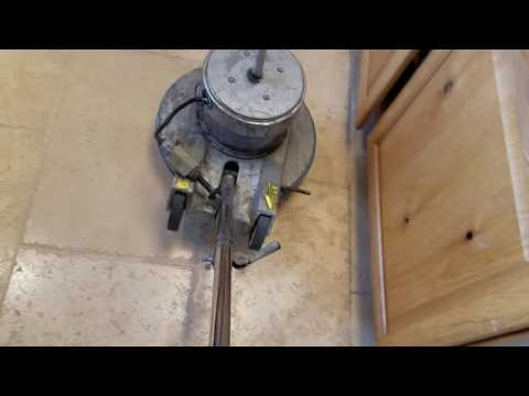 Hardwood & stone floor cleaning/buffing