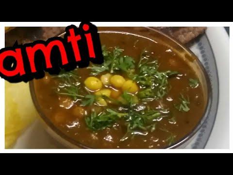 katachi amti (Curried Chana Dal)|Maharashtrian Amti|