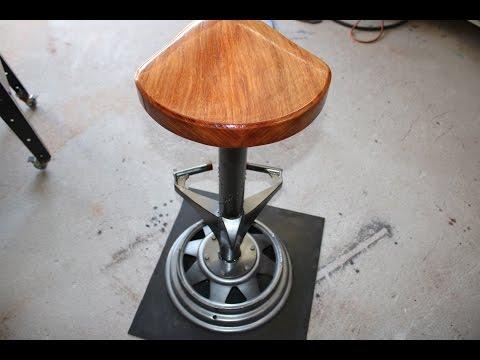 Bar Stool Industrial Style