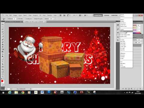 How To Create A Christmas Wallpaper