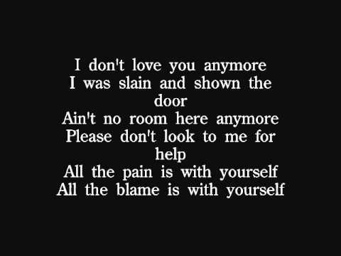 Quireboys - I Don't Love You Anymore lyrics