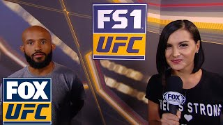 Demetrious Johnson talks going for Anderson Silva