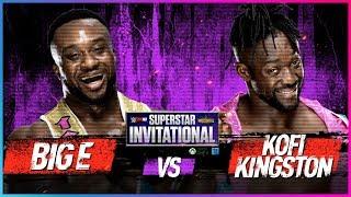 BIG E vs. KOFI KINGSTON: Rd. 1 - WWE 2K18 Superstar Invitational Tournament