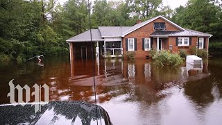 North Carolina man comes home for first time after Florence