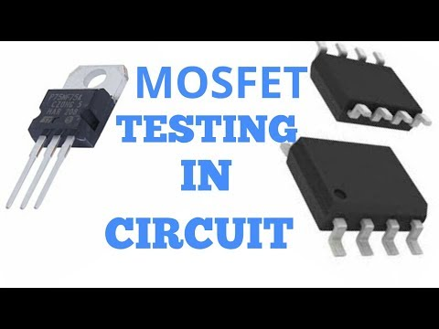 MOSFET TESTING IN CIRCUIT !! 3 PIN & 8 PIN MOSFET (FET) CHECKING & FIND IN CIRCUIT.