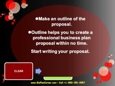HOW  TO  WRITE A BUSINESS  PLAN PROPOSAL.wmv