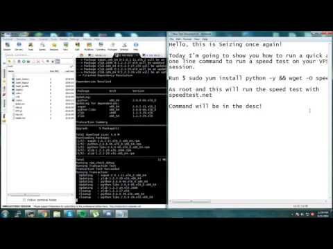 How to SpeedTest CentOS VPS!