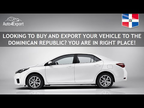 Shipping cars from USA to The Dominican Republic - Auto4Export