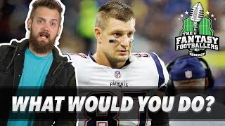 Fantasy Football 2018 - What Would You Do? + Pump the Brakes, Krampus Love - Ep. #630