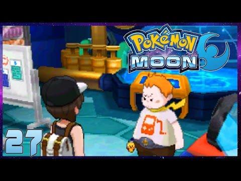 Pokemon Moon Part 27 ELECTRIC TRIAL & TOTEM VIKAVOLT! Gameplay Walkthrough ( Pokemon Sun Moon )