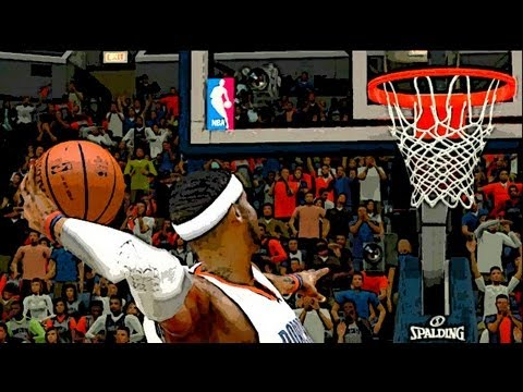 NBA 2k12 My Player: The Boston Massacre | Lob City | 360 Dunks | Fadeaways ft Michael Jordan